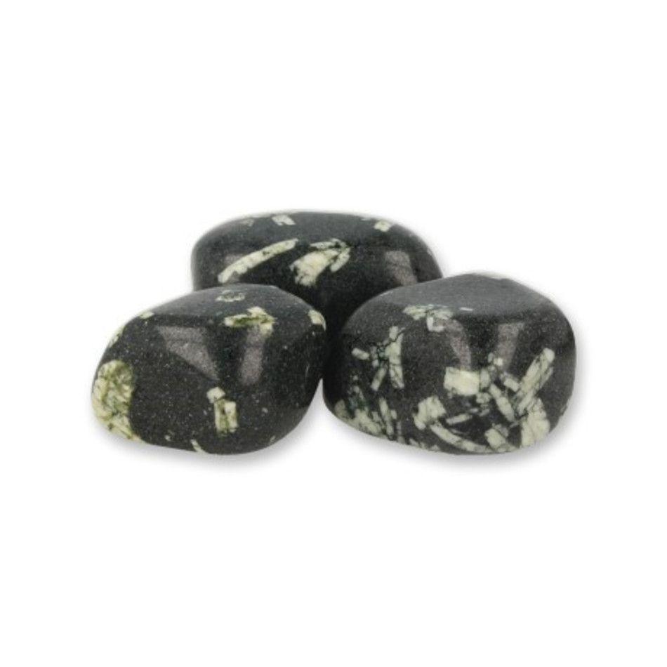Porfiriet trommelstenen (mt3), per gram