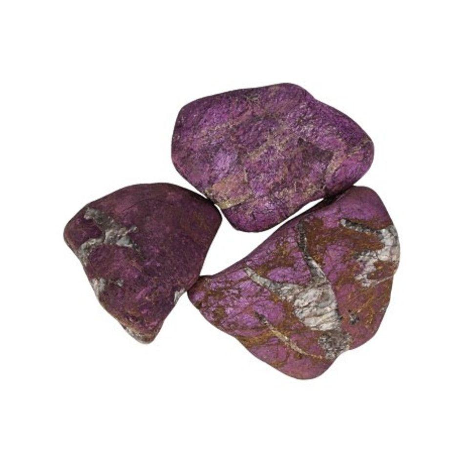 Purpuriet trommelsteen (mt3) 3-4 cm