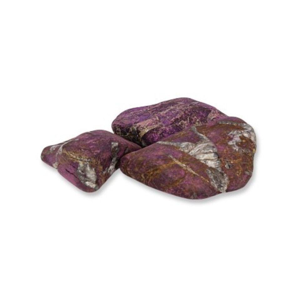 Purpuriet trommelstenen (mt3), per gram