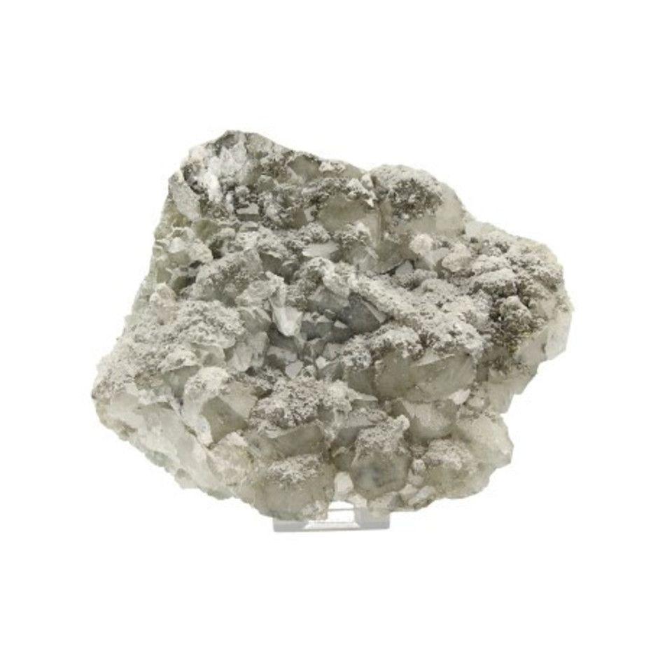 Pyriet op Calciet/Fluoriet AB ruw, p/kg