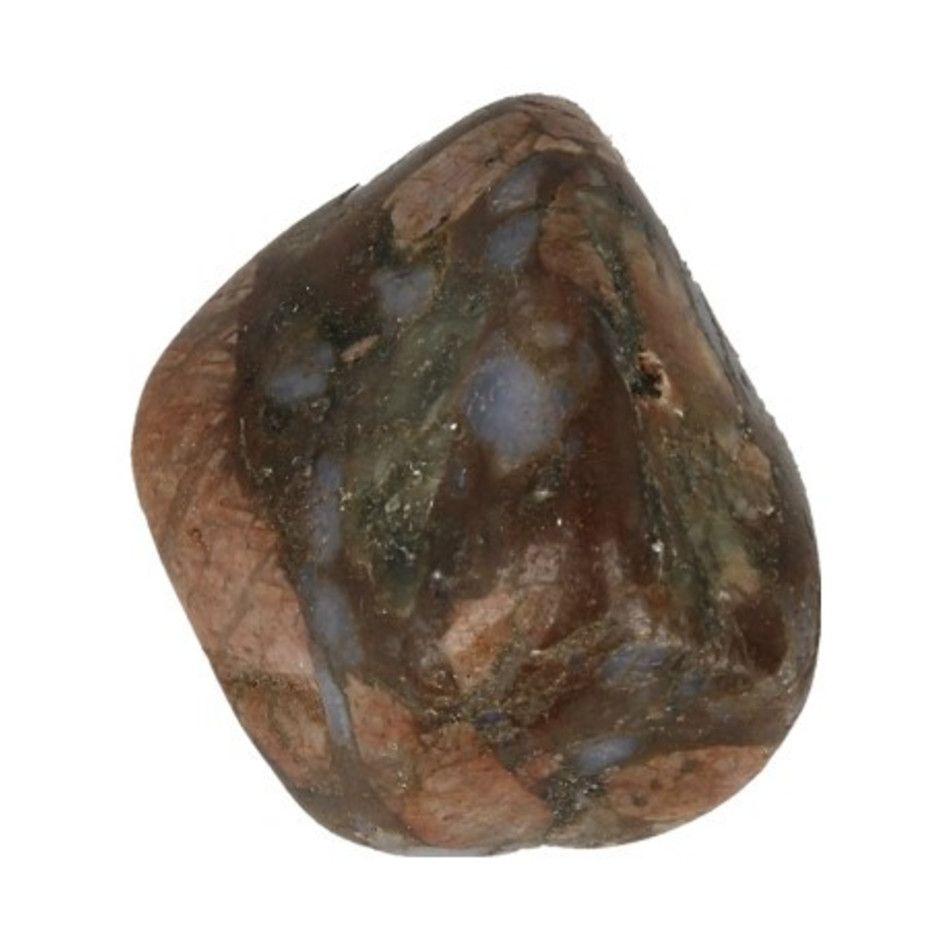 Que Sera 1 st. trommelsteen (blauwe Rhyoliet) (mt3) 2-3 cm