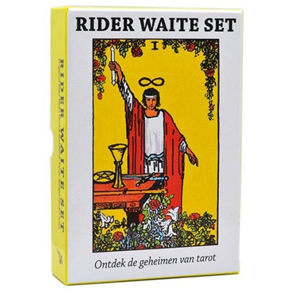 Rider Waite Tarot, kaartenset met boek