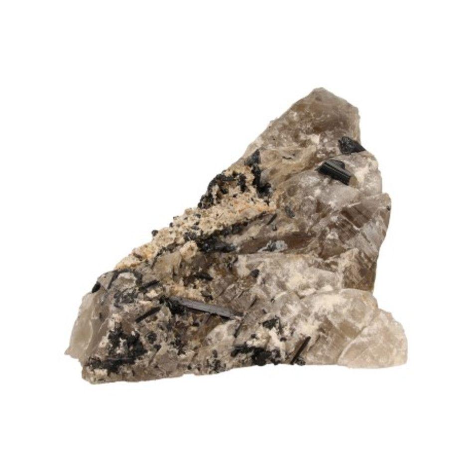 Rookkwarts met Toermalijn kristallen nr.25