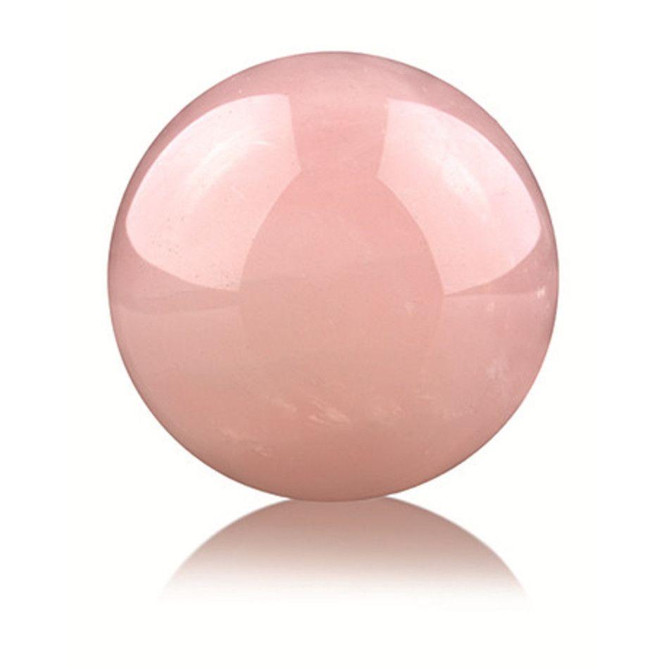Roze kwarts 12,5 cm edelsteen bol