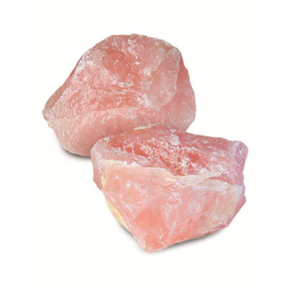 Roze kwarts ruw, 0,5 - 1 kg. brokken