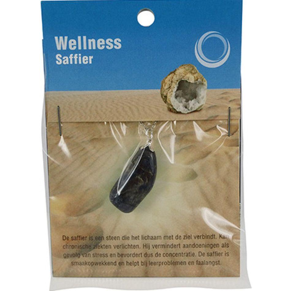 Saffier gezondheids hanger