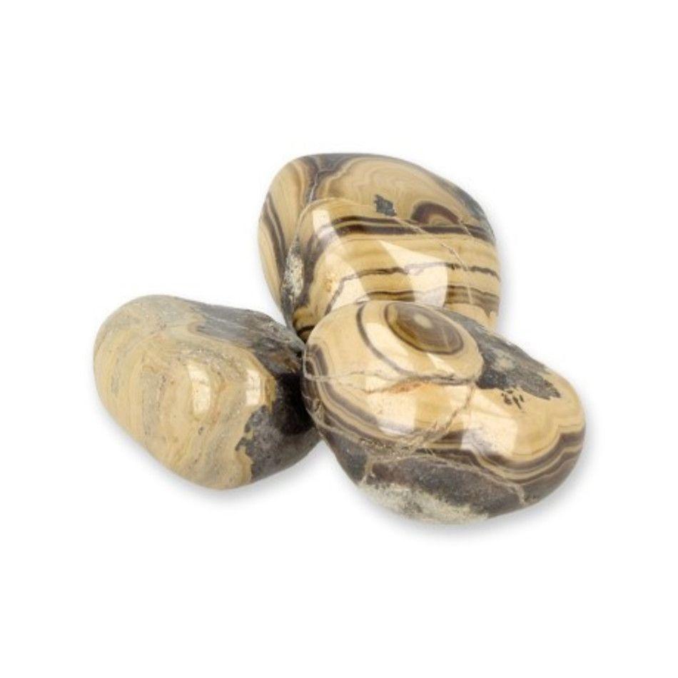 Schalenblende trommelstenen (mt3), per gram