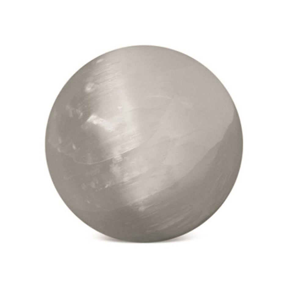 Seleniet 30-40 mm edelsteen bol