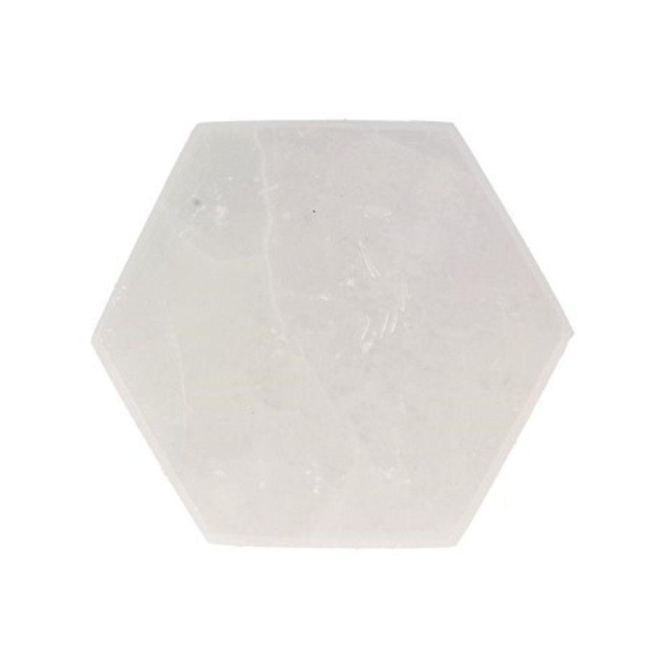 Seleniet oplaadsteen zeskant