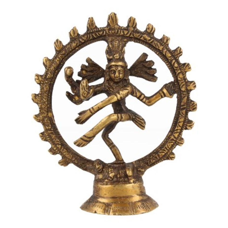 Shiva beeldje brons 10 cm