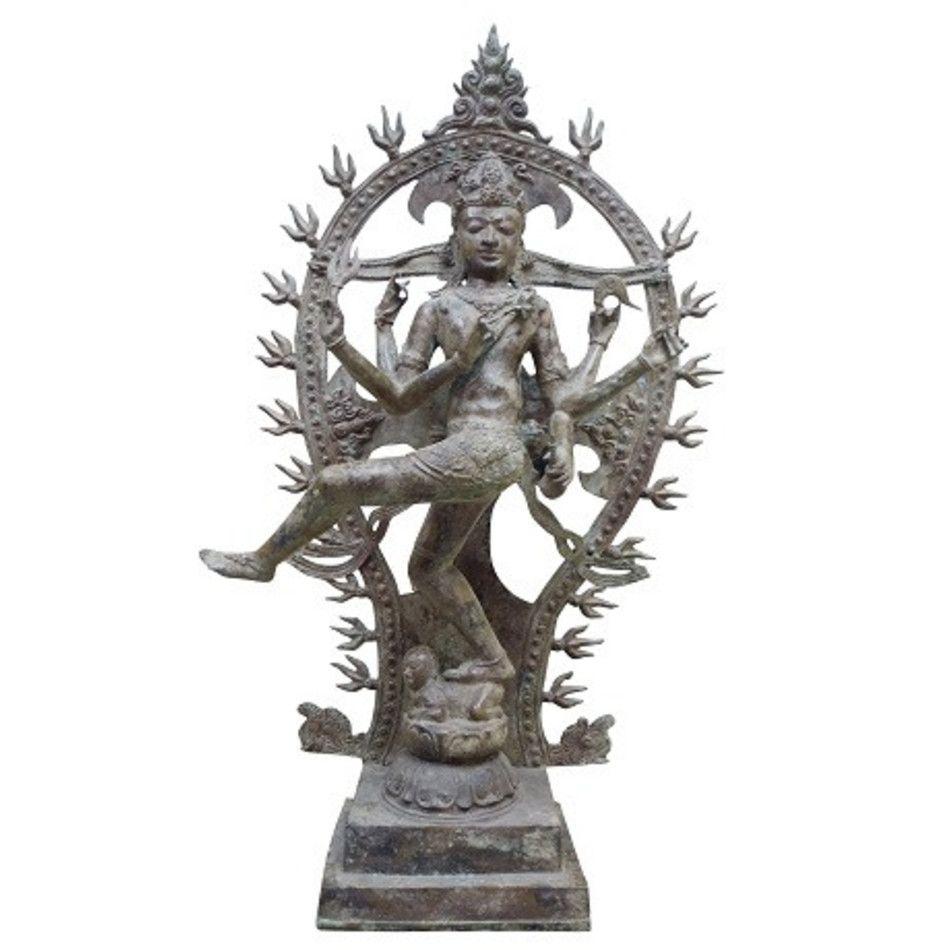 Shiva brons antiek beeld brons nr.11