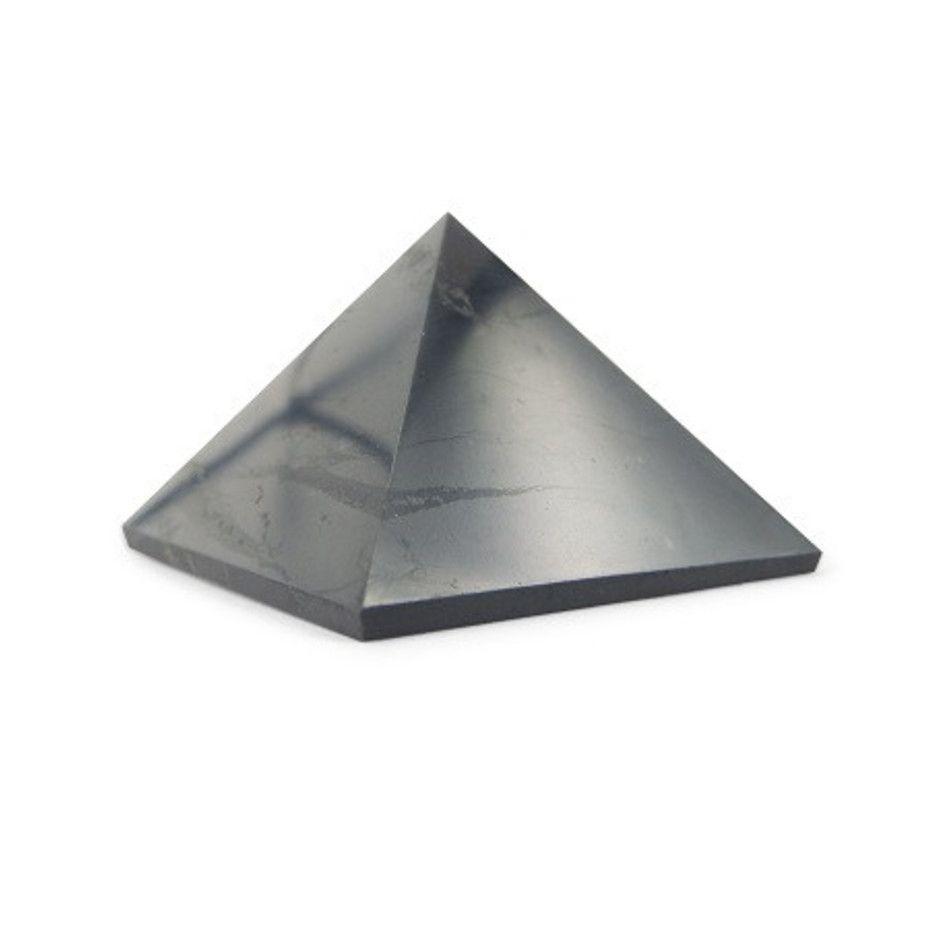 Shungit 5 cm edelsteen piramide