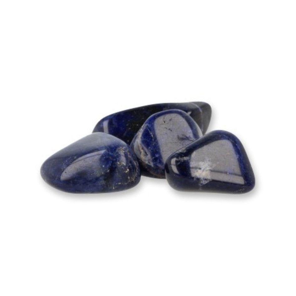 Sodaliet A 50 gr. trommelstenen (mt3)