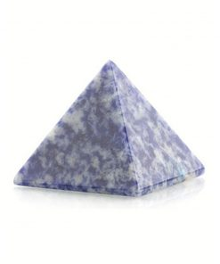 Sodaliet piramide 30 mm edelsteen