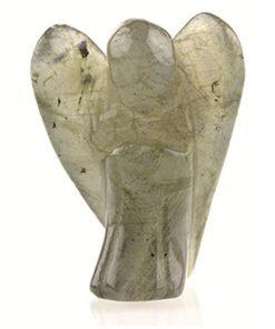 Staande engel 20 mm Labradoriet