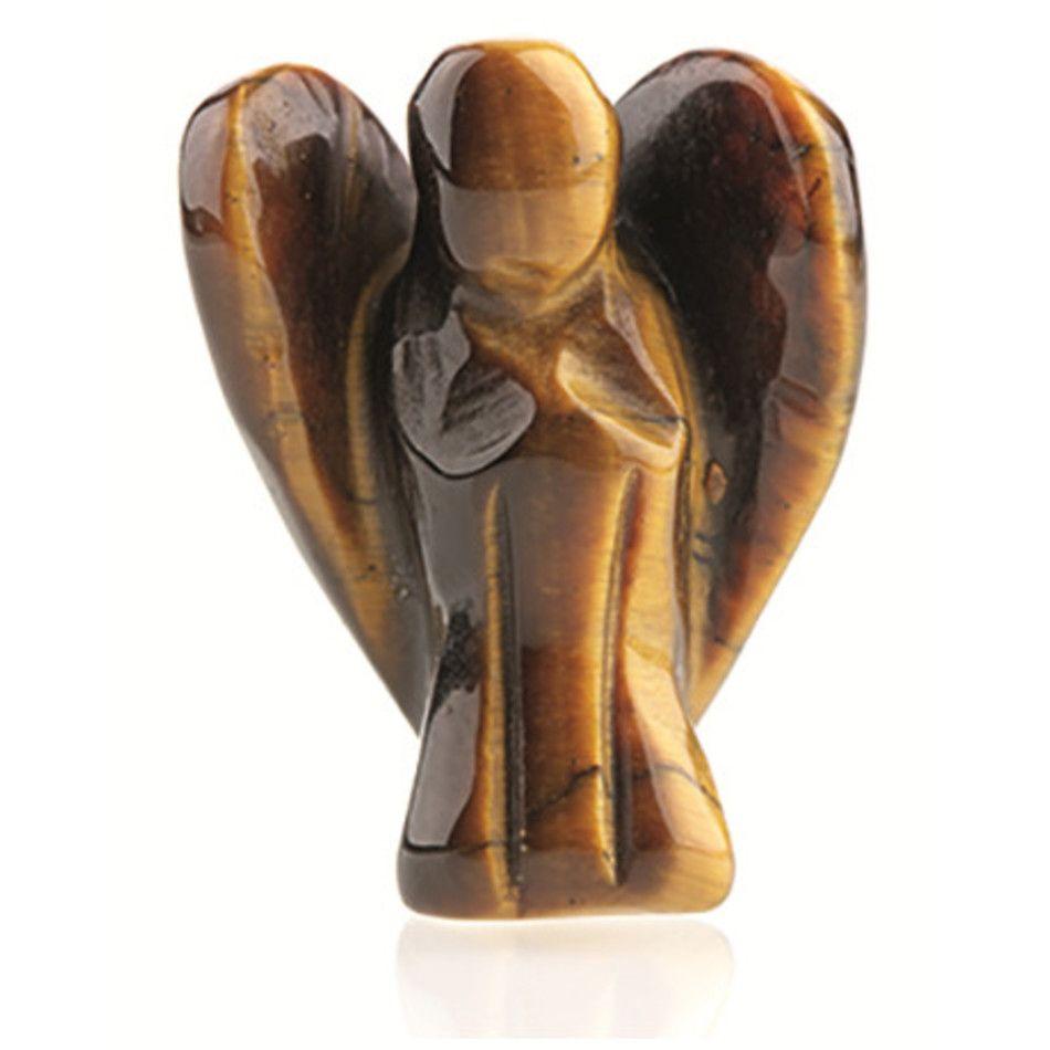 Staande engel 20 mm Tijgeroog