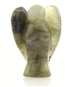 Staande engel 35 mm Labradoriet