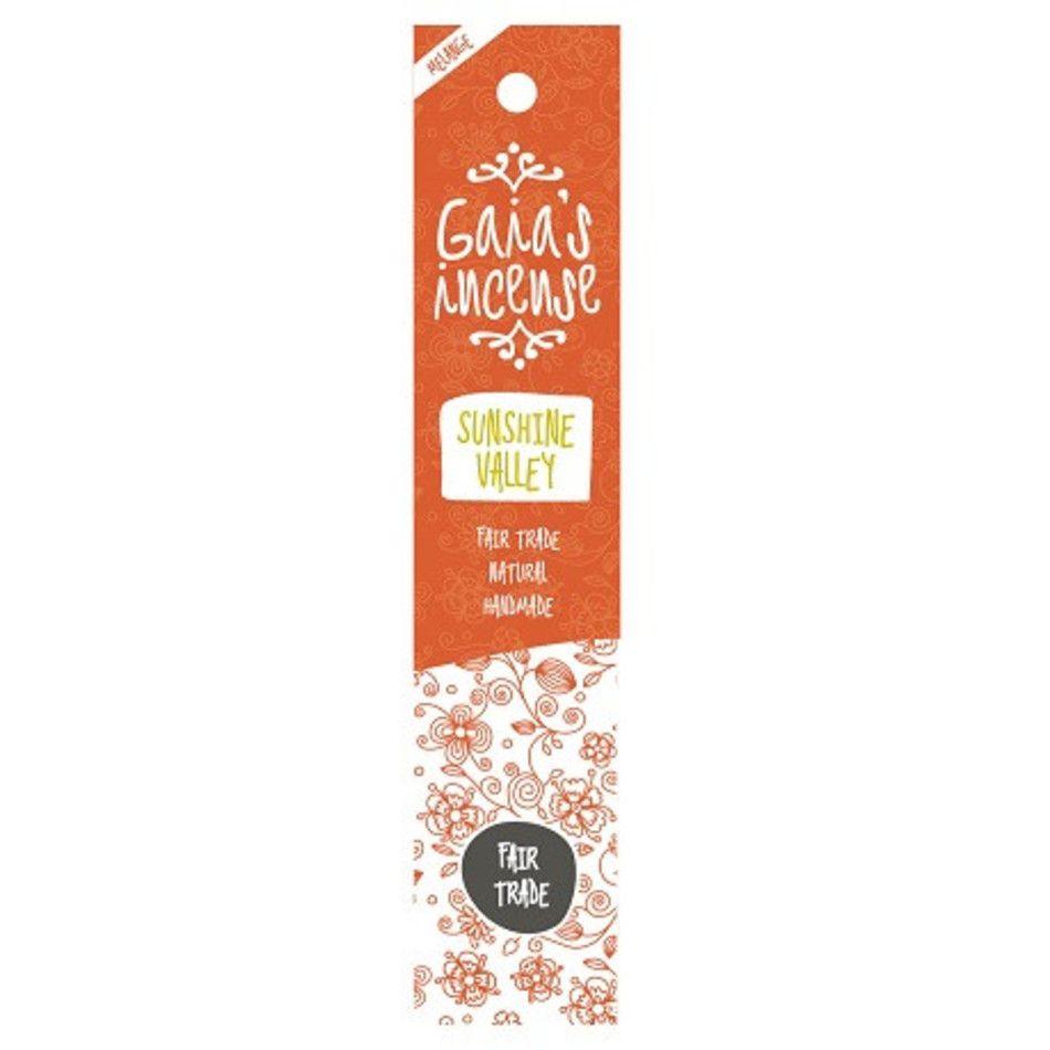 Sunshine valley Gaia's incense