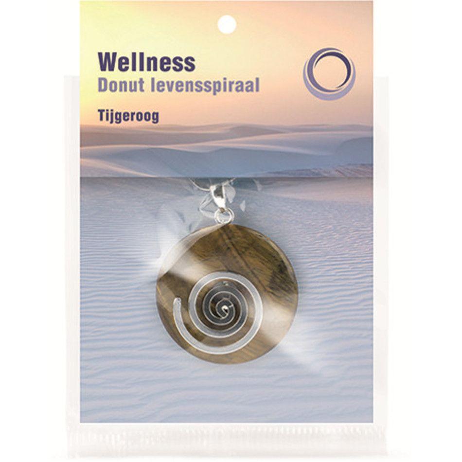 Tijgeroog donut levensspiraal