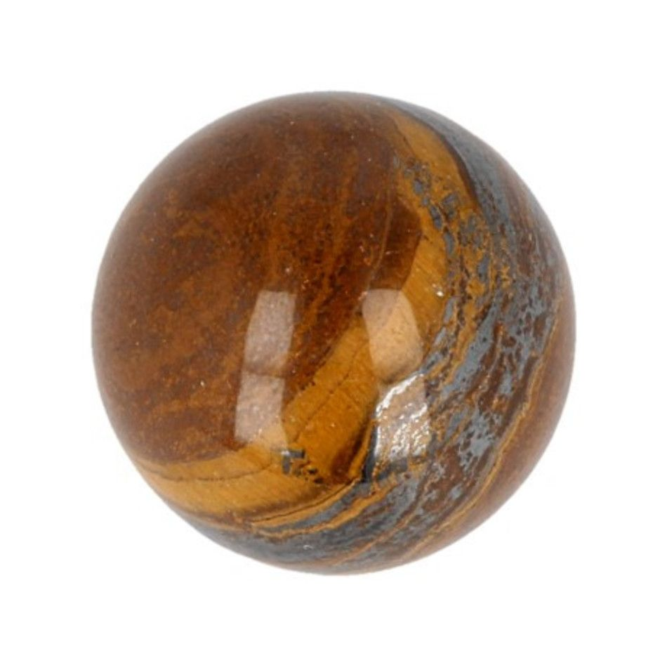 Tijgeroog edelsteen bol 30 mm