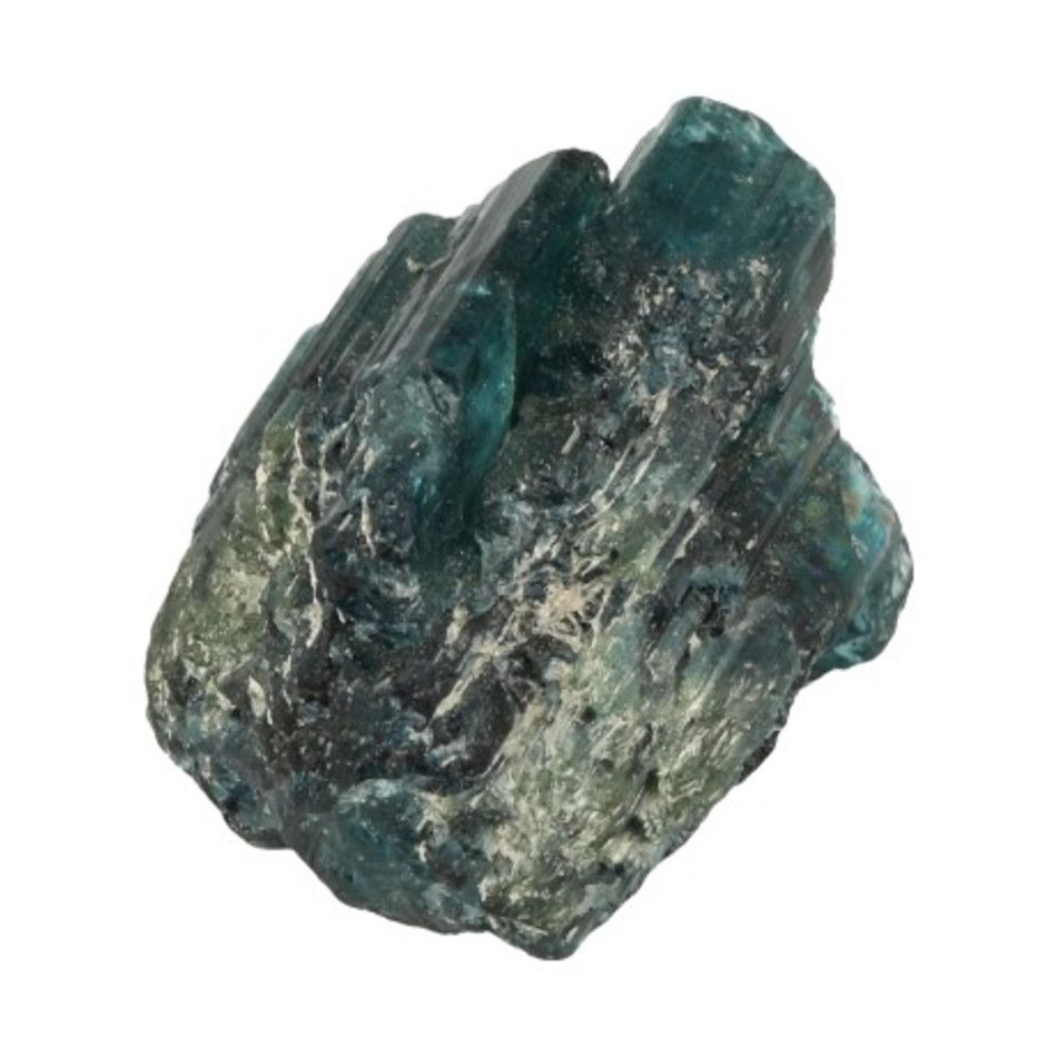 Toermalijn blauw (Indigoliet) ruw nr.1