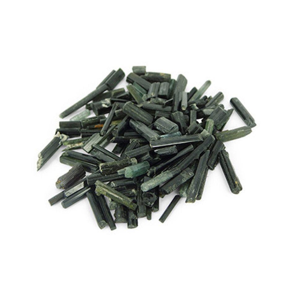 Toermalijn groen ruw, per gram