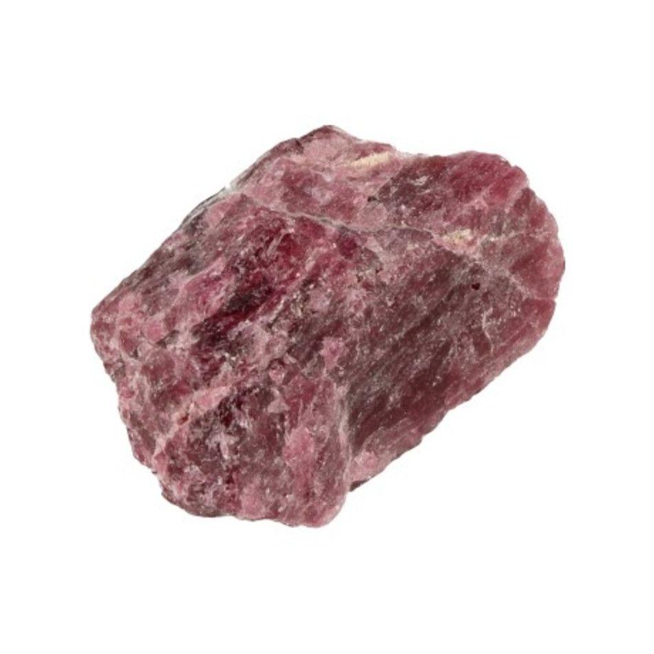 Toermalijn roze A (Rubeliet) ruw nr.1