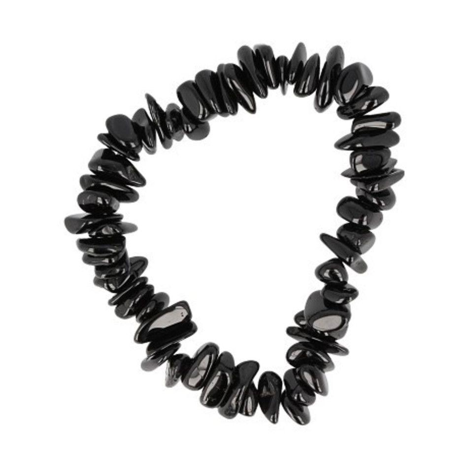 Toermalijn zwart AA splitarmband