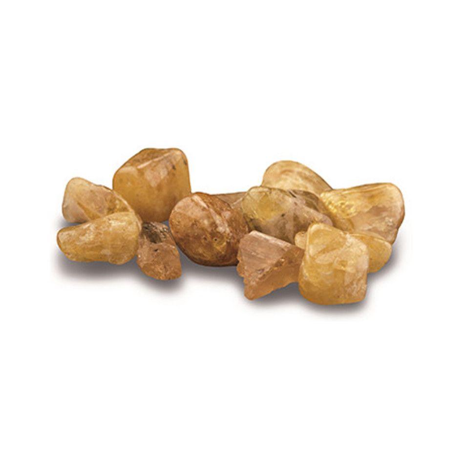 Topaas goud 10 gr. trommelstenen (mt1)