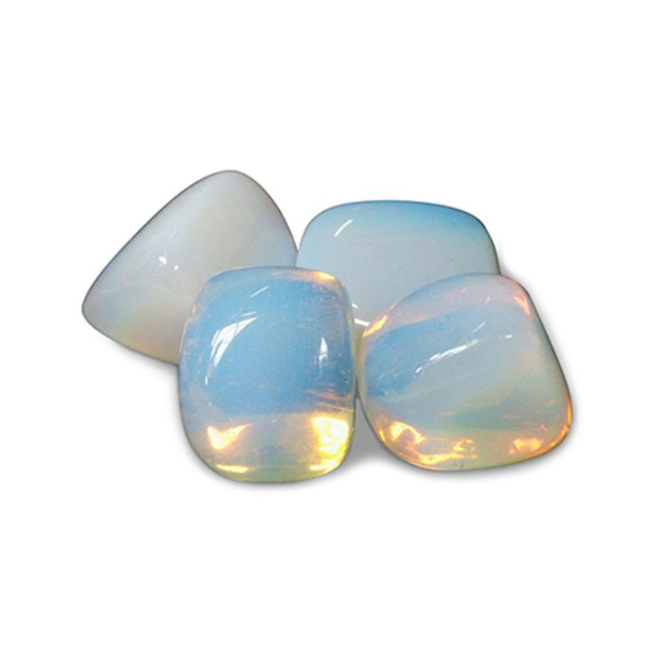 Trommelstenen 250 gr. Opaliet (synth) (mt3)