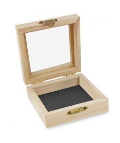 Verpakkingsdoosje hout 15x15 cm