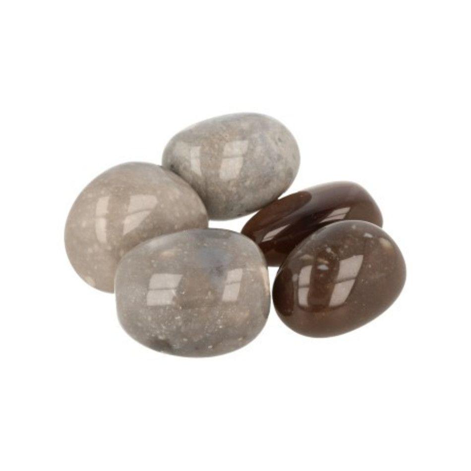 Vuursteen A trommelstenen (mt3), per gram