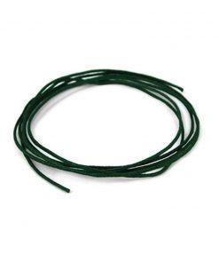 Waskoord 1 mm groen, per meter