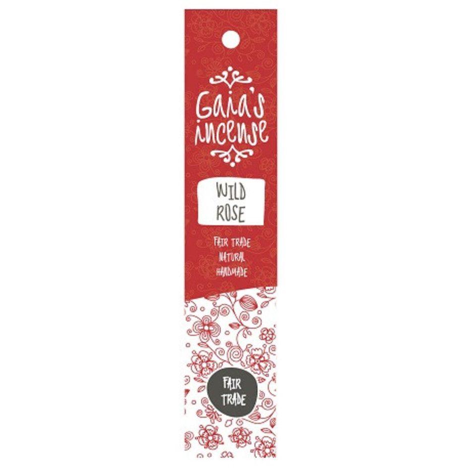 Wild rose Gaia's incense