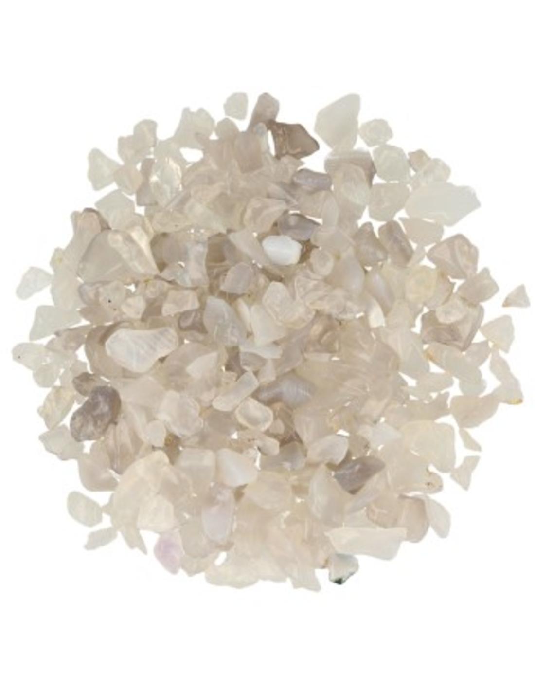 Agaat grijs 1 kg. trommelstenen (mt1)