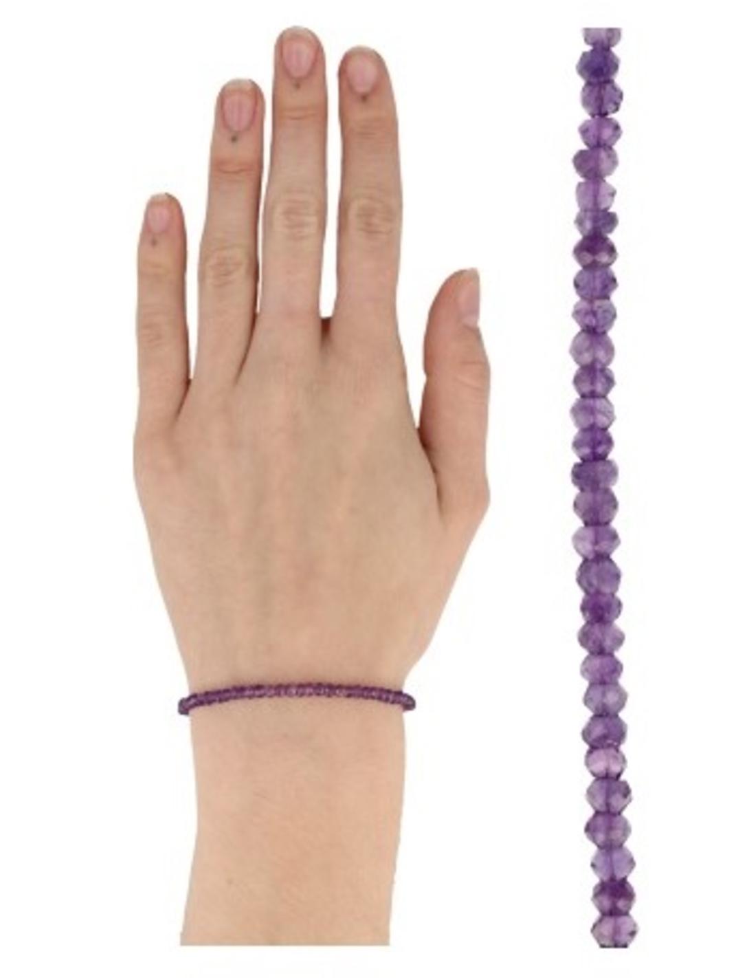 Amethist summer vibes armband