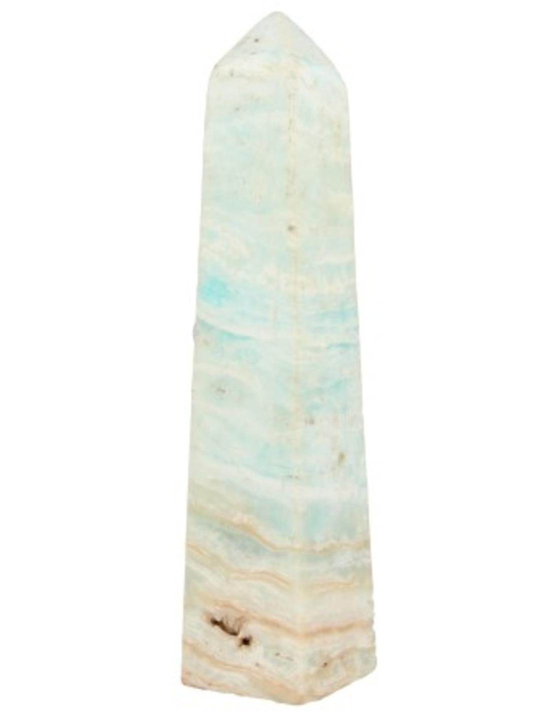 Aragoniet blauw obelisk nr.37