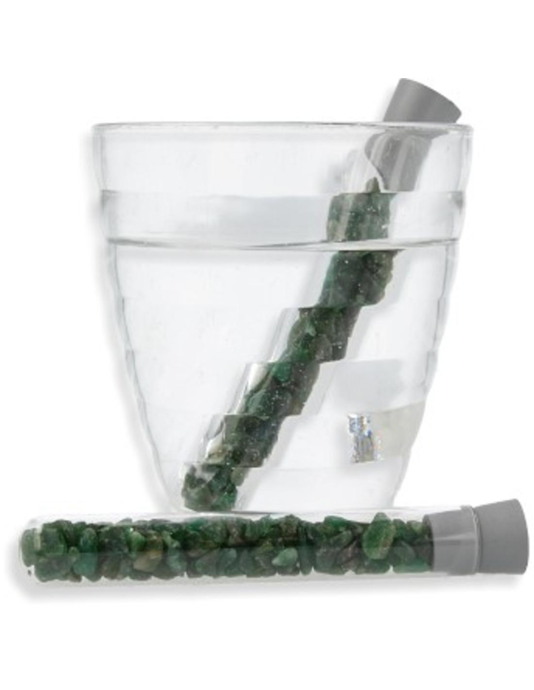 Aventurijn groen glas Aqua Gems waterwand