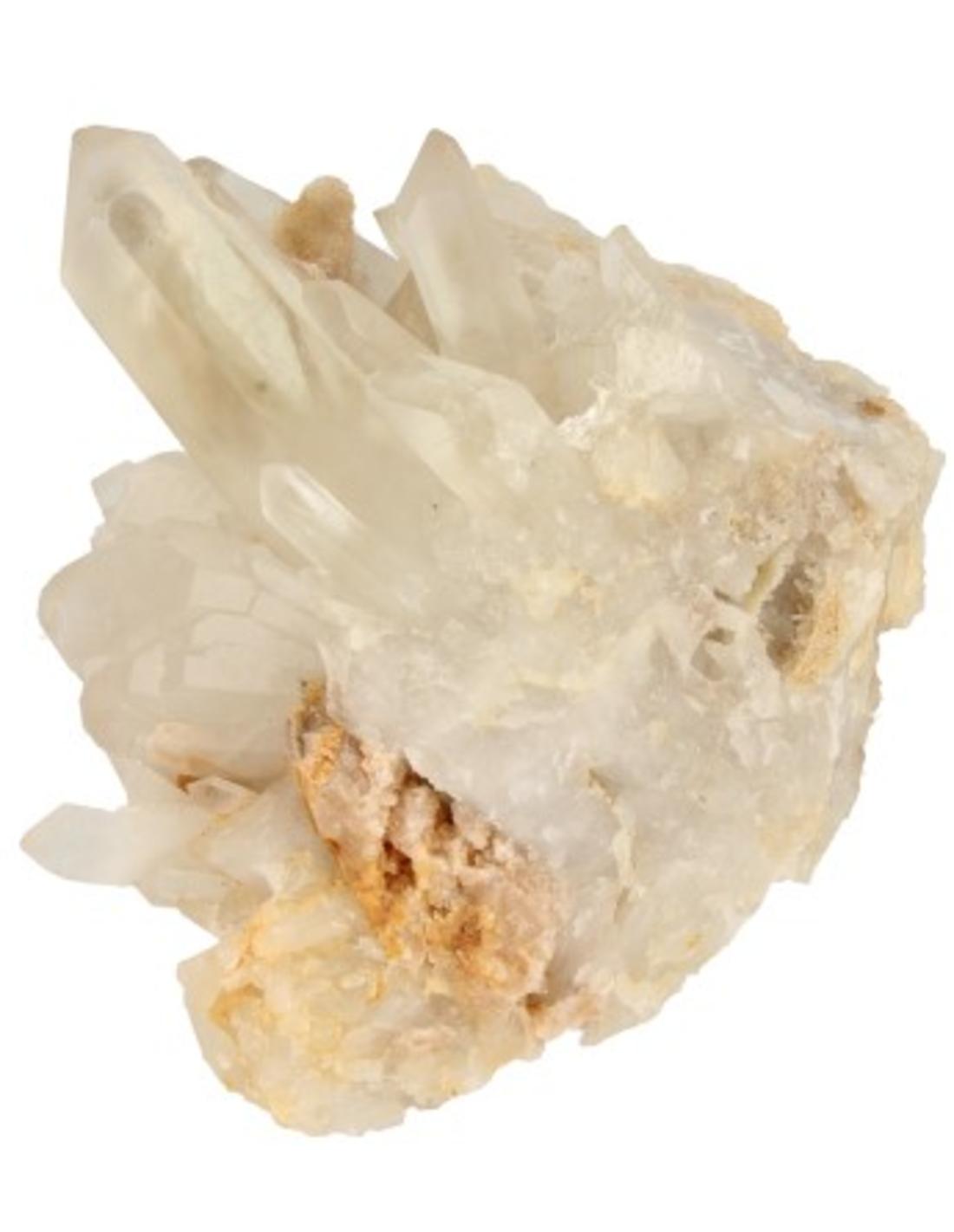 Bergkristal / Lemurisch kristal / Fadenkwarts ruwe combi nr.14