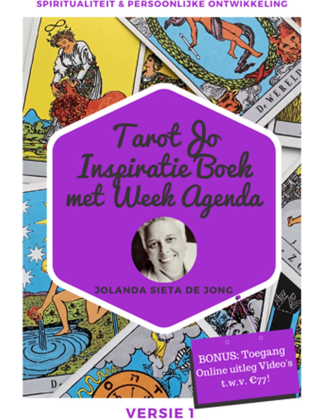 Boek: TarotJo Inspiratieboek