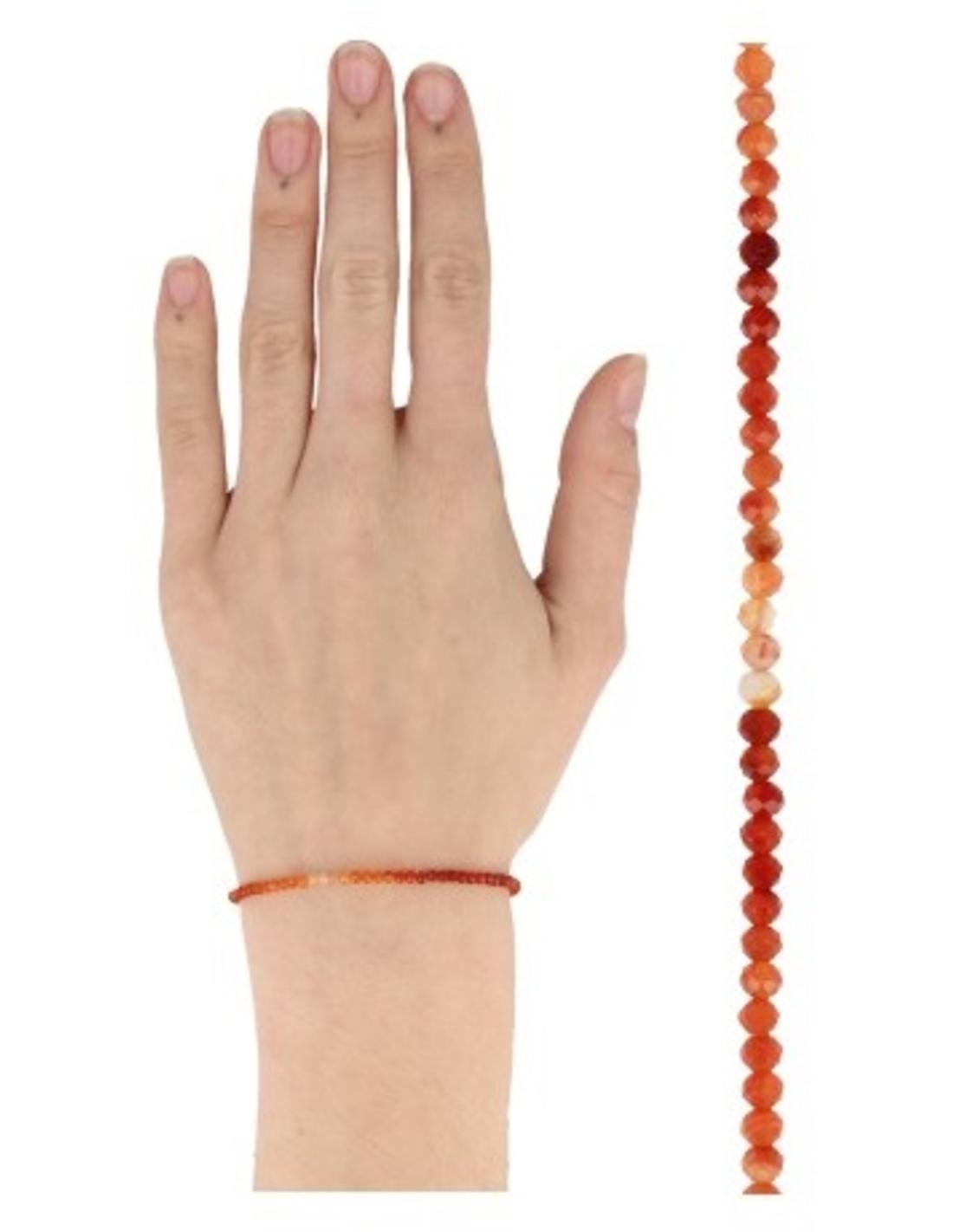 Carneool summer vibes armband