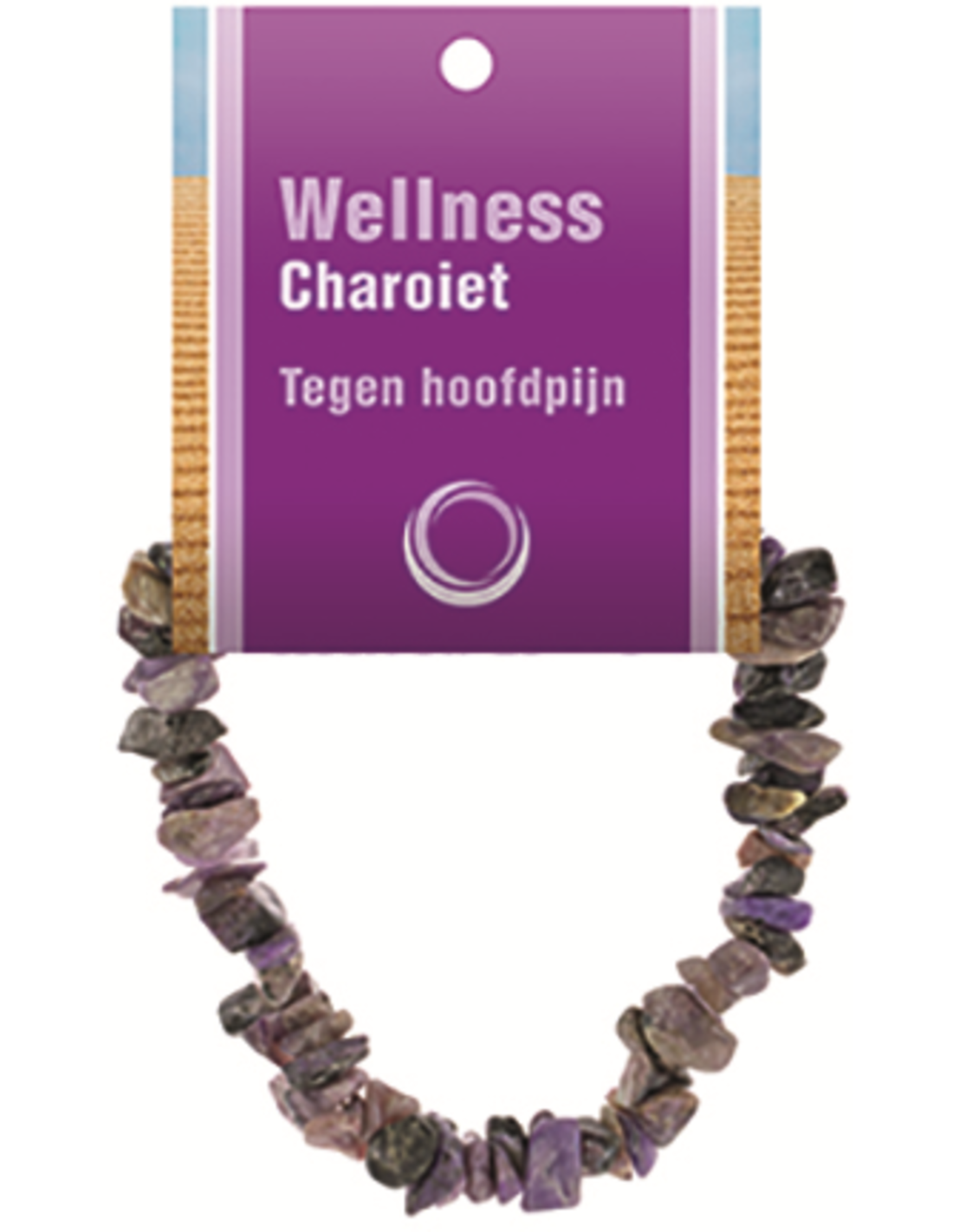 Charoiet A splitarmband + kaart