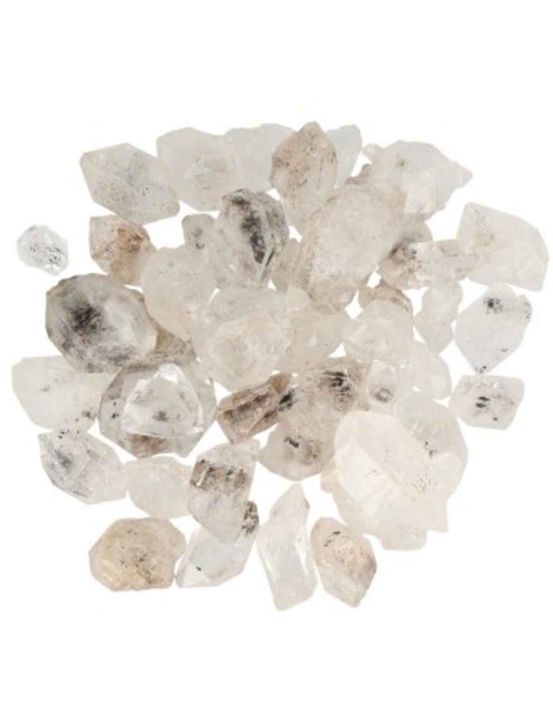 Herkimer diamant ruw 100 gr.