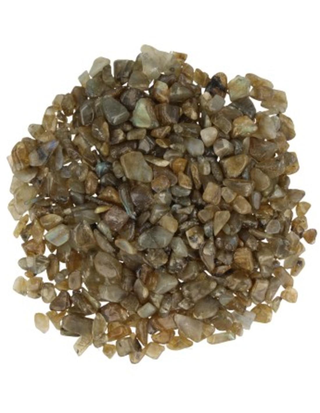 Labradoriet 100 gr. trommelstenen (mt1)