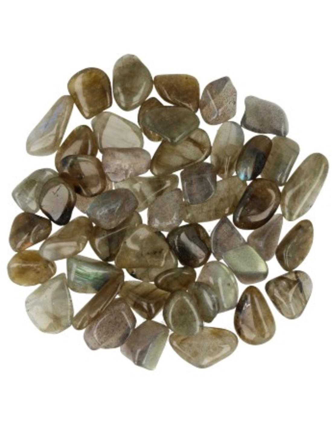 Labradoriet A 50 gr. trommelstenen (mt2)