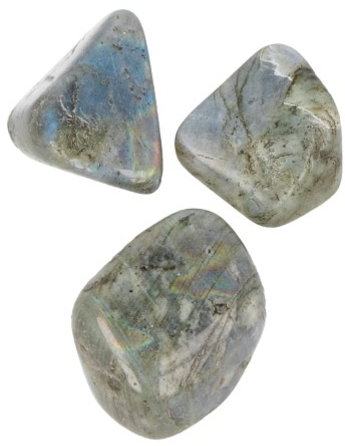 Labradoriet AB 250 gr. trommelstenen (mt3)