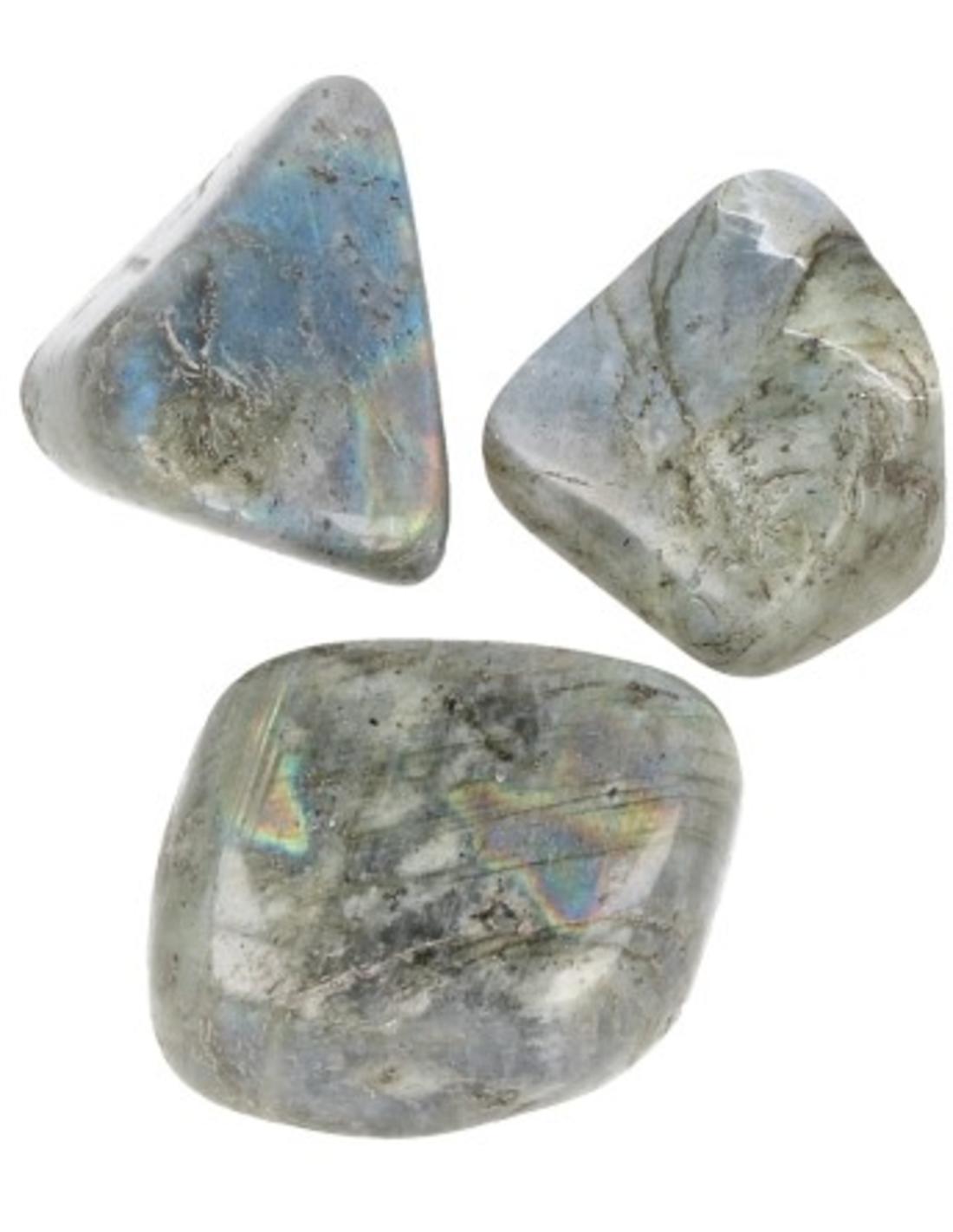 Labradoriet AB 3 st. trommelstenen (mt3)