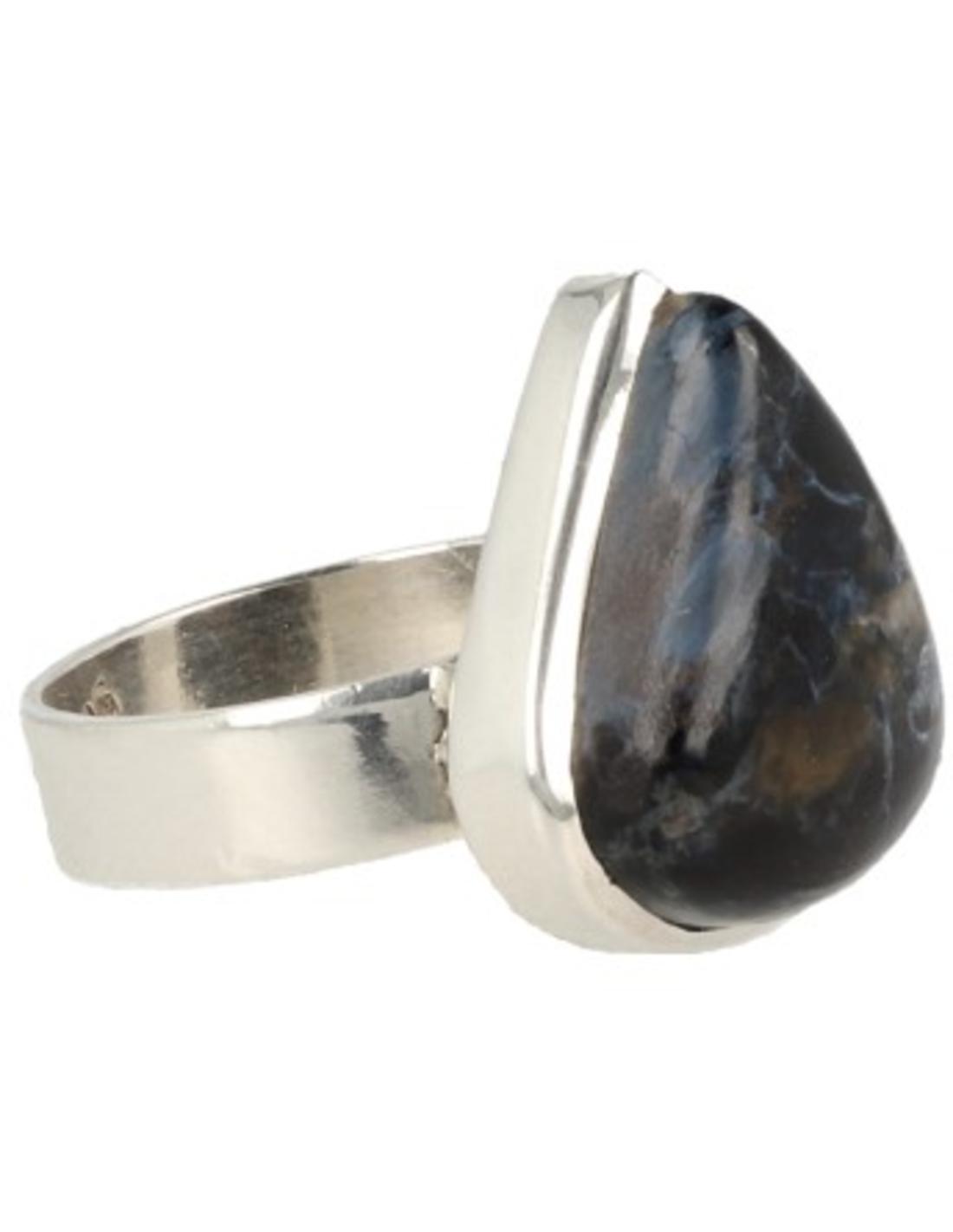 Pietersiet ring zilver - 16,75