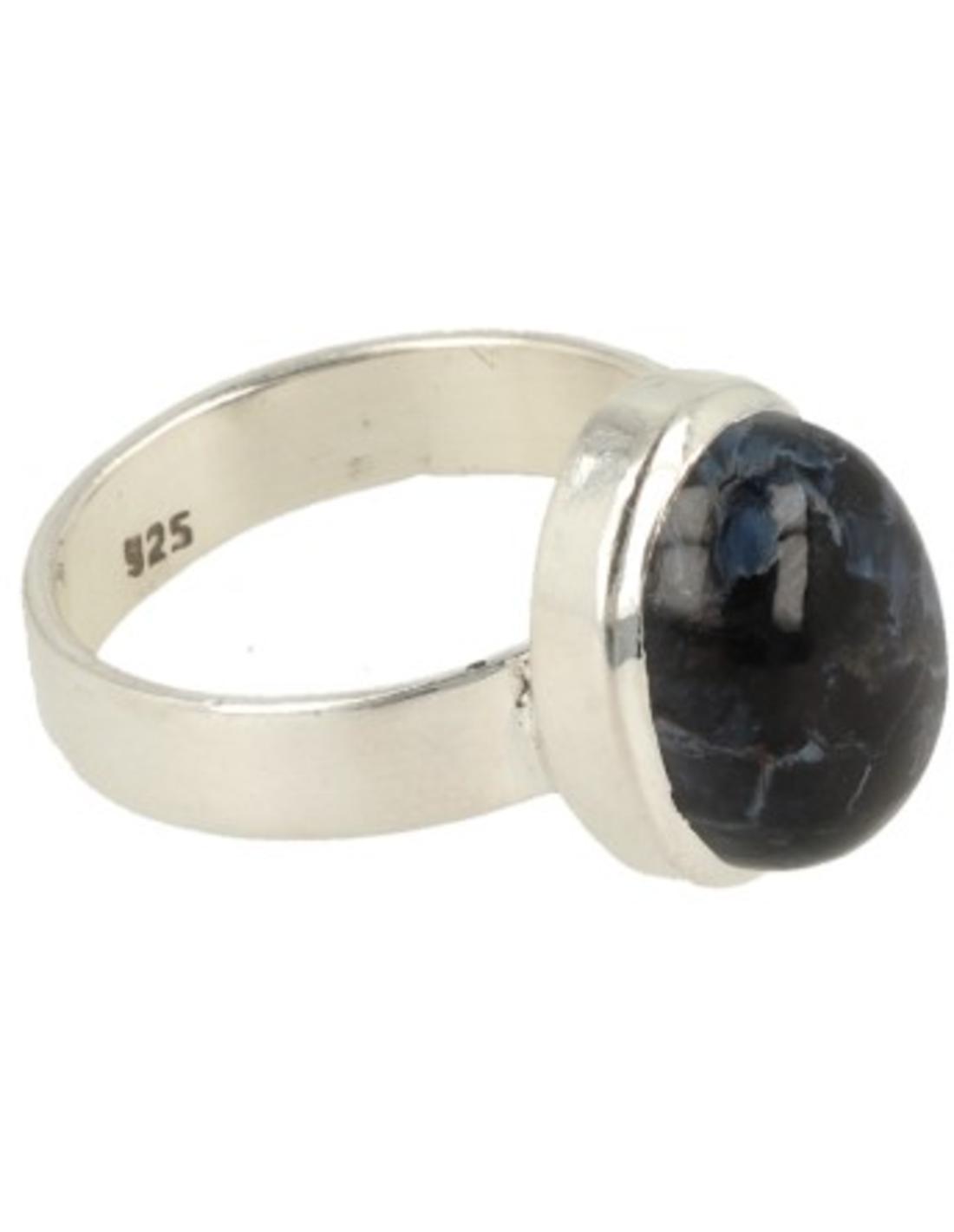 Pietersiet ring zilver - 18,25