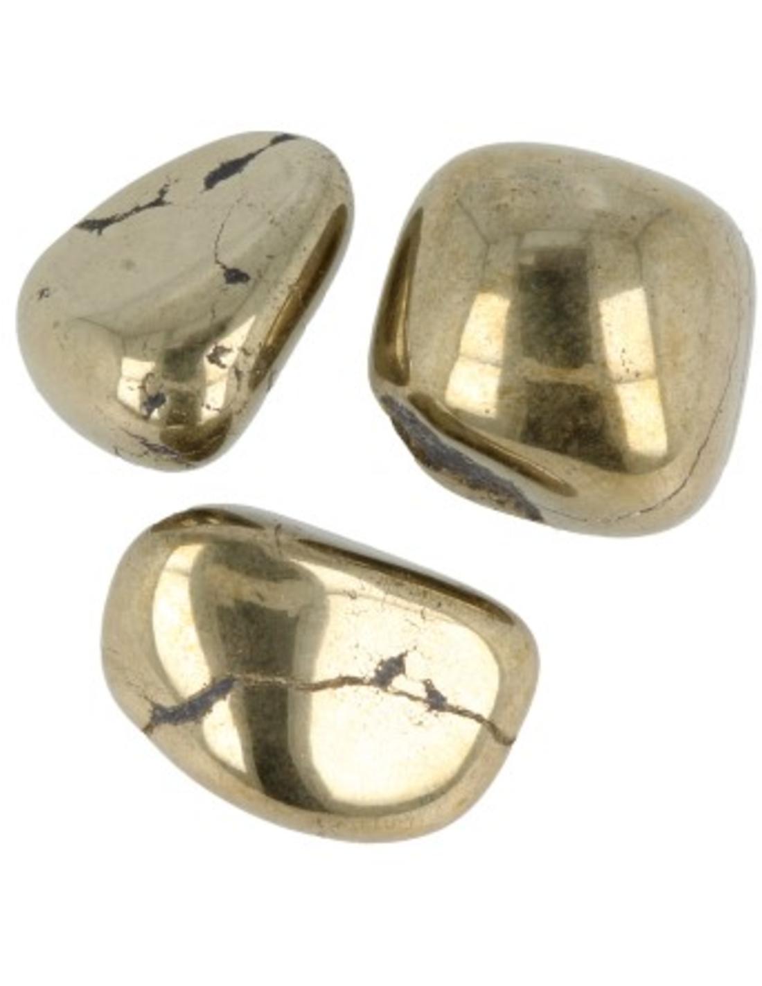 Pyriet A 1 kg. trommelstenen (mt2-3)